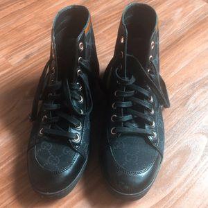 Gucci Hi Top Sneakers